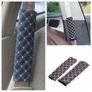 2Pcs Car Seat Belt Shoulder Safety Pads Cover Cushion