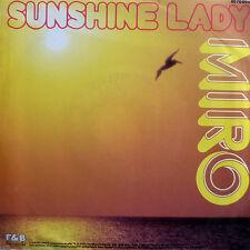 "7"" 1987 AUSTROPOP RARE IN MINT- ! MIRO : Sunshine Lady"