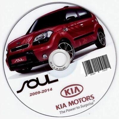 Kia soul 2008/2013 workshop manual maintenance workshop ...