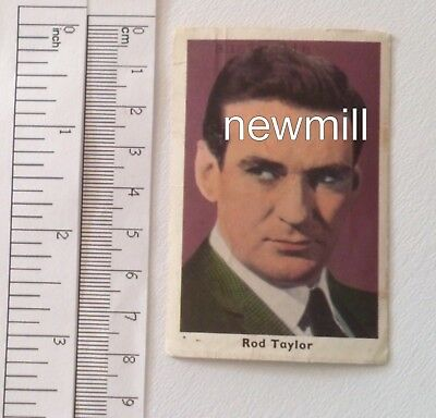 Vintage Non-sport Cards Rational Rod Taylor Alte Trading Card 1964 Finnland Kaugummi Australien Schauspieler