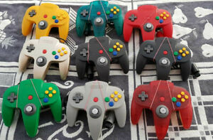 Original-N64-Nintendo-64-Controller-Control-Pad-Gamepad-Zustand-OK