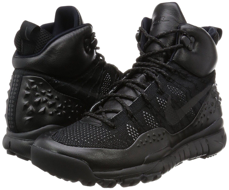 Nike lupinek flyknit nero antracite dimensioni uomini 862505-002 10