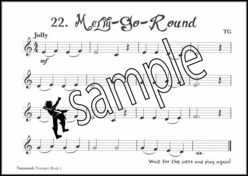 Vamoosh Trumpet 1 Music Book//CD Method Learn How To Play SAME DAY DISPATCH