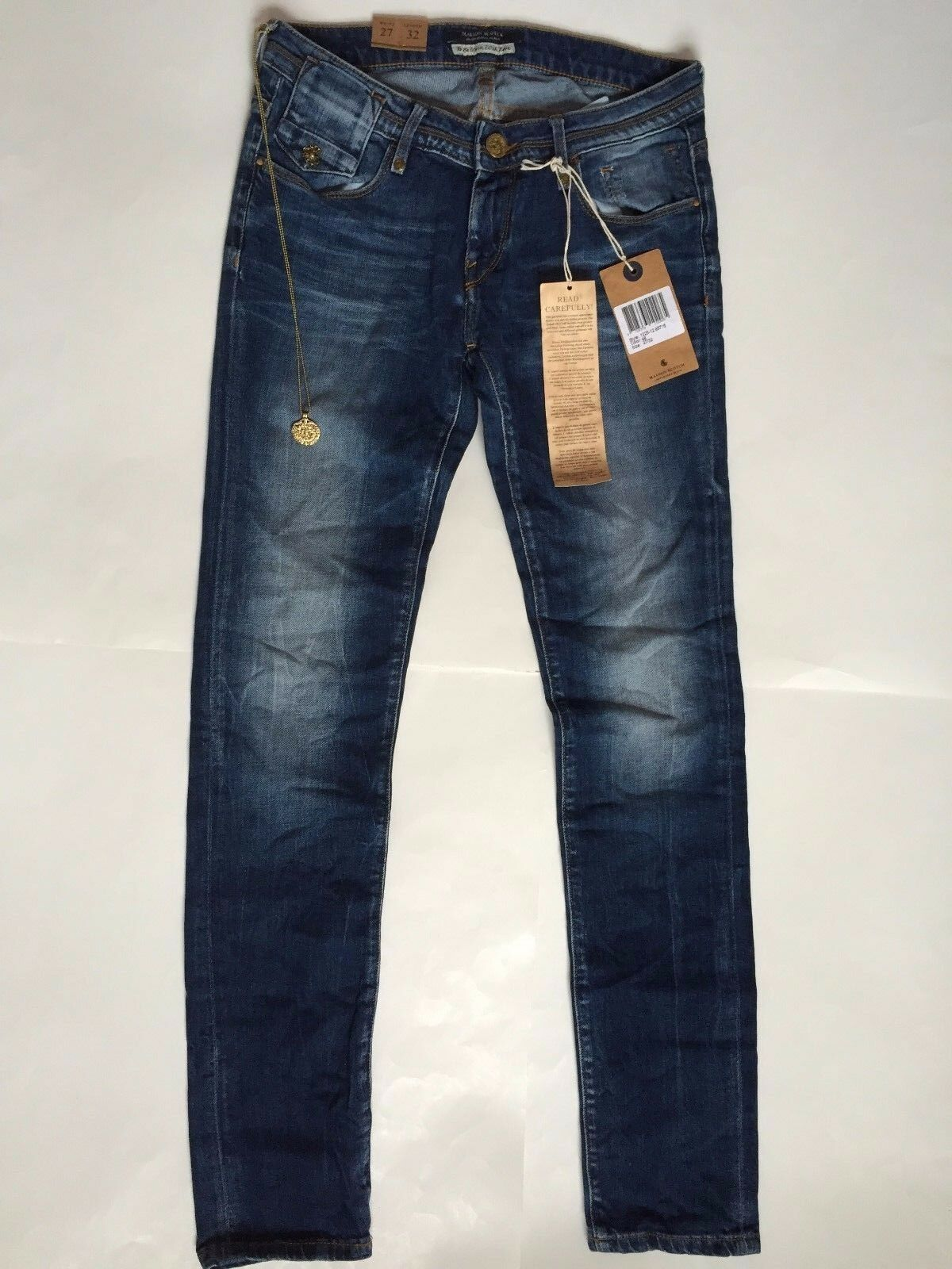 Authentic Masion Scotch & Soda Amsterdams bluew Women's Denim Jeans MSRP 159 NWT