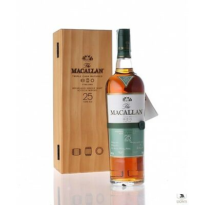 Macallan 25 Year Old Fine Oak Single Malt Scotch Whisky 700ml in Box