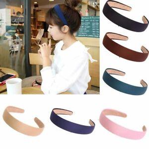 Girls-Headwear-Headband-Women-Hair-Band-Cloth-Hair-Hoop-9-Colors-For-Choice