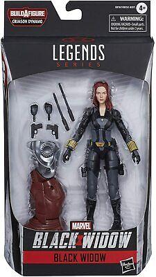 "Marvel Legends /""Vintage Series/"" Black Widow 6-Inch Action Figure"