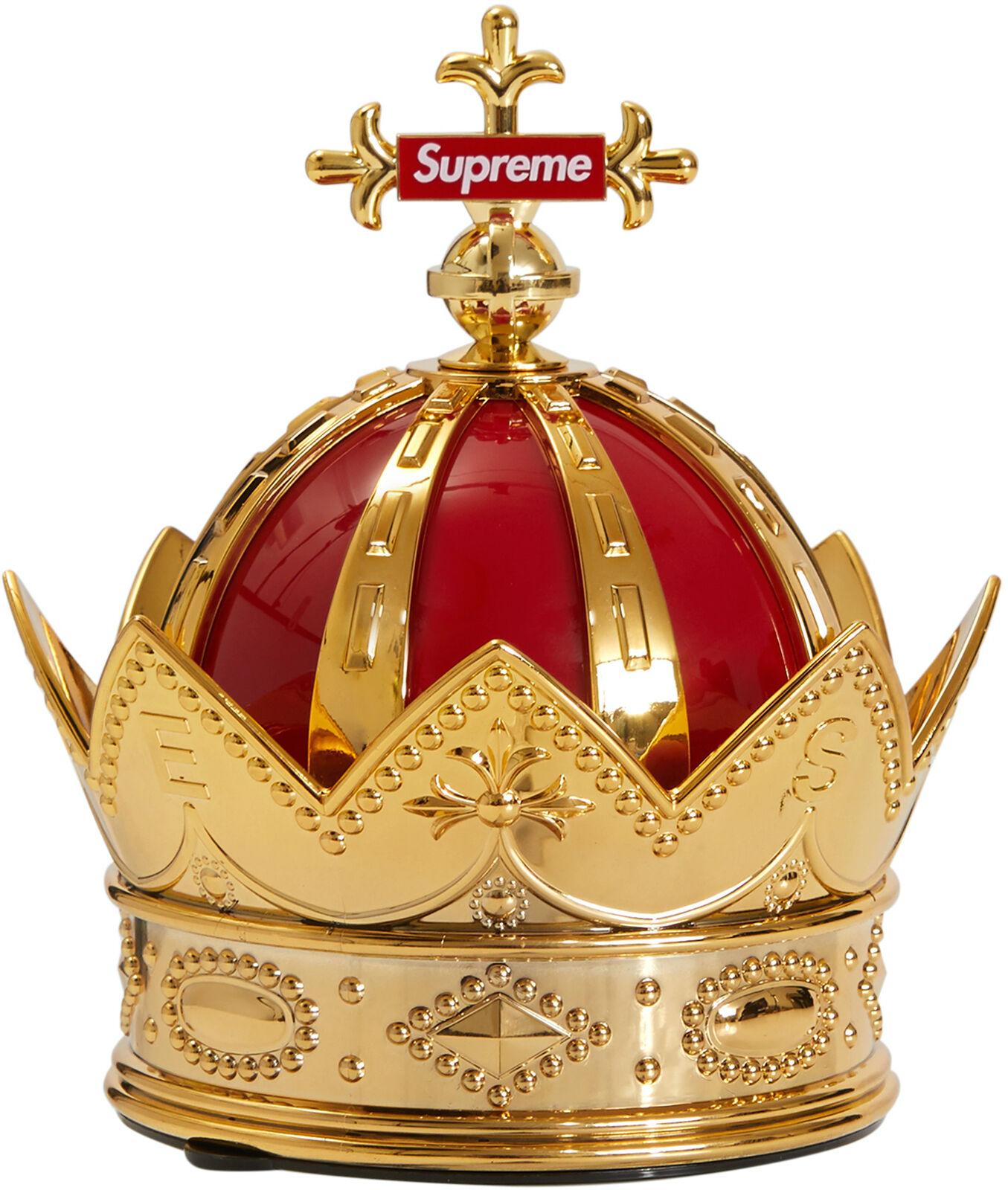 Supreme Crown Air Freshener Black Cherry Red Gold SS19