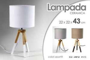 LAMPADA-H43CM-DA-TAVOLO-COMODINO-LUMETTO-LUME-MODERNA-PIEDI-LEGNO-FAU-698743