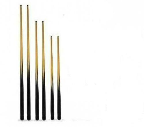 15.99 NEW 2 snooker or POOL CUES. 54 INCH freepost