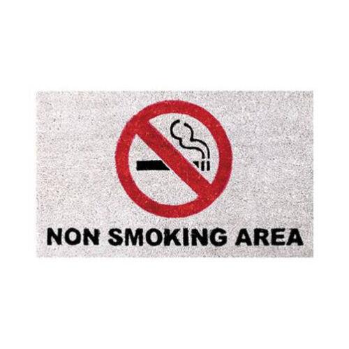 Non-fumeur Paillasson non smoking de Noix de Coco 75 x 45 cm Paillasson türmatte