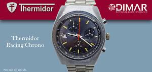 VINTAGE THERMIDOR RACING CHRONO. CAL.TDB1376 JRGK. CALENDARIO A LAS 9.