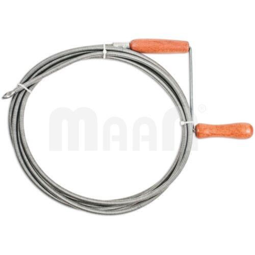 ∅5 oder 9mm Rohrreiniger Rohrreinigungswelle Rohrspirale Spirale Abflussreiniger