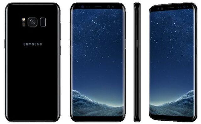 Samsung Galaxy S8 5.8' 64GB ITALIA NUOVO Midnight Black Smartphone Android Nero