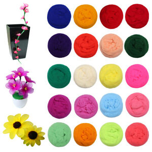 Nylon Stocking Mesh Artificial Flower Making Craft Mixed Colours All Different Ebay