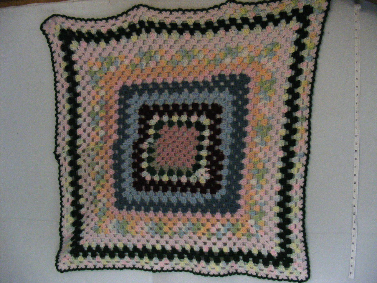Crochet Lap Blanket, CLB, 32  X 35