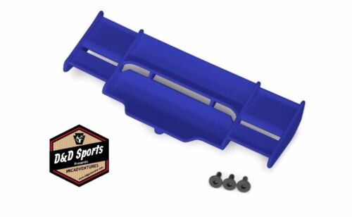 Rustler 4x4 Blue 3 // 3x8 Fcs Traxxas 6721X Wing
