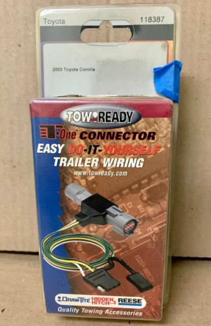 Tow Ready 118387 Toyota Corolla T Connector Trailer