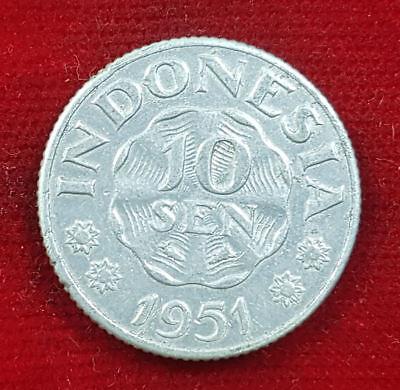 10 Sen 1951 Indonesien Münze Coin Republik Indonesia Hot Sale 50-70% OFF