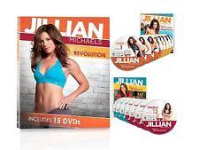 Jillian Michaels Body Revolution 15 DVD Set + Warranty✓ + Guides + EXTRAS✓