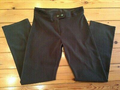 Caritatevole Vintage Donna Smart Salvia Verde Kaki Pantaloni Taglia Vita 31 Gamba 30 Da Mirage-mostra Il Titolo Originale