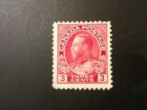 1911-1925 King George V Admiral issue # 109