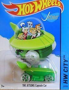Hot-Wheels-The-Jetsons-Capusle-Car-NIB-NIP-HW-City-New-in-Package-New-in-Box