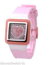 Casio LDF21-4A Ladies Pink Digital POPTONE Sports Fashion Watch HEART DISPLAY