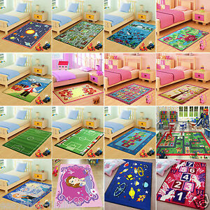 Image Is Loading Childrens Large Girls Boys Bedroom Playroom Floor Mat