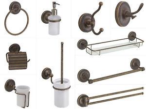 1a Messing Qualität Landhaus Bad Accessoires Serie alt Antik ...
