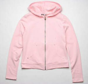 BEJEWELED BY SUSAN FIXEL LUCKY HEART HOODY (PINK)