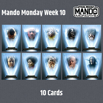 TOPPS Star Wars Card Trader mando Mondays Mandalorian