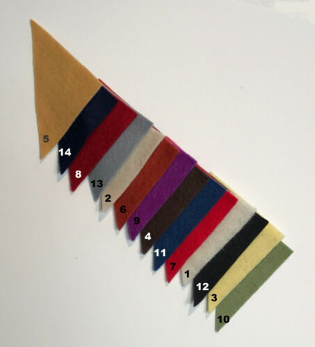 "Many Color Choices 1 Yard 100/% Virgin Merino Wool Felt 36""W Cut to order color"