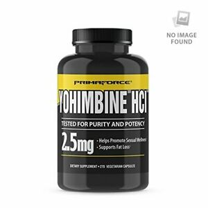 PrimaForce Yohimbine HCl, 2.5mg Capsules - Weight Loss Supplement 270 Count (Pac