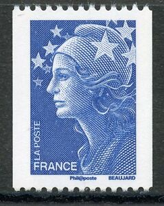 STAMP-TIMBRE-FRANCE-N-4241-MARIANNE-DE-BEAUJARD-ROULETTE