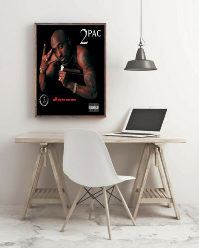 All Eyez On Me Album Cover Poster Giclée 2Pac