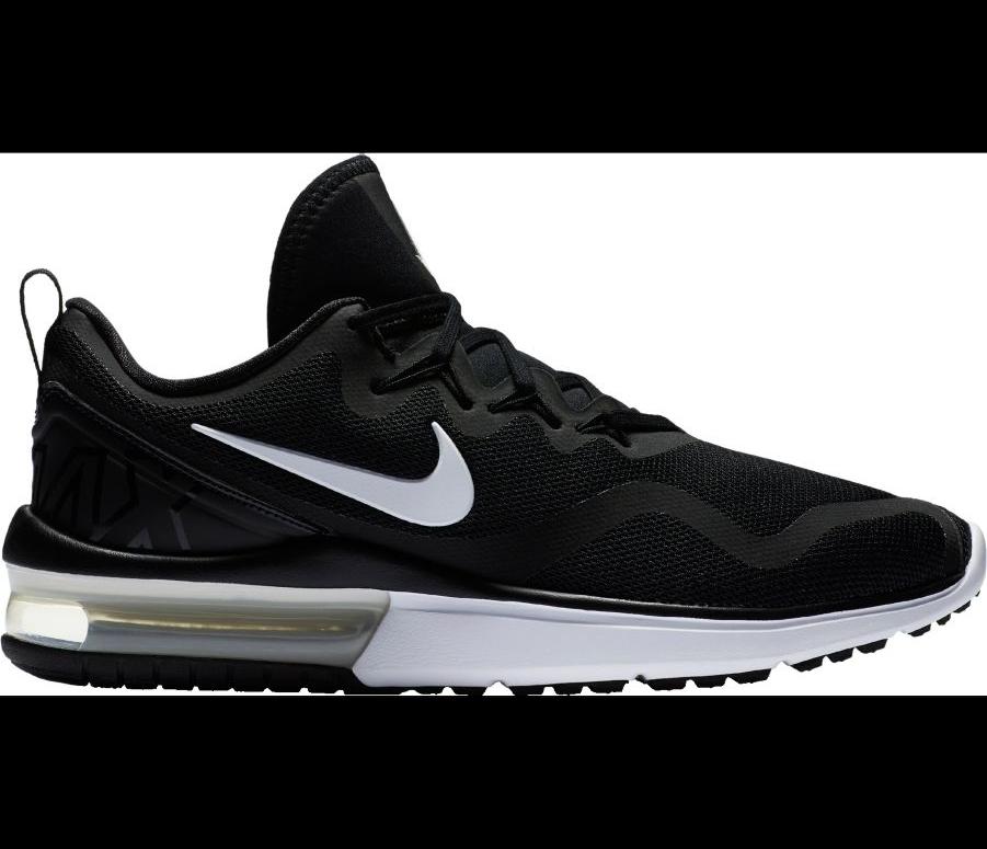 Para hombres Nike Air Max Furia Calzado (AA5739 para Correr Negro Blanco (AA5739 Calzado 001) 7407aa