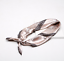 Indexbild 6 - Halstuch Seide Optik Tuch Rundschal 90cm Bandana Glanz Damen Schal Gold Mund