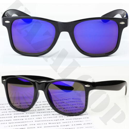 New Mirror Reflective Lens Square  sunglasses mens womens Full UV400 Protection