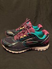 5ae8ba5336a Brooks Ghost 8 Women s Running Shoe Metallic Charcoal Bright Rose ...