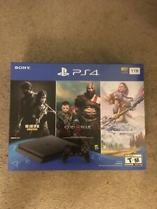 New-Sony-PlayStation-4-PS4-Slim-1TB-Console-3-Game-Bundle-FREE-SHIPPING-US