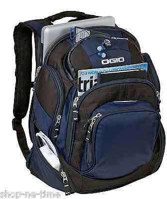 "OGIO Mastermind Pack 17"" Laptop / MacBook Pro Navy Backpack Work or School - New"
