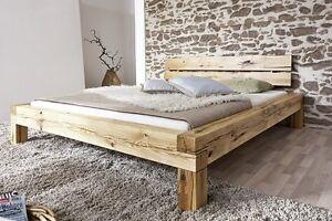 bett balkenbett doppelbett elias schlafzimmer 180x200 cm wildeiche vorr tig ebay. Black Bedroom Furniture Sets. Home Design Ideas