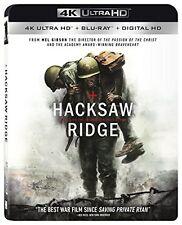 HACKSAW RIDGE (4K ULTRA HD) - Blu Ray - Region free