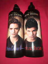 2x Trinkflasche Twilight, New Moon,Team Jacob+Edward, NEU & OVP
