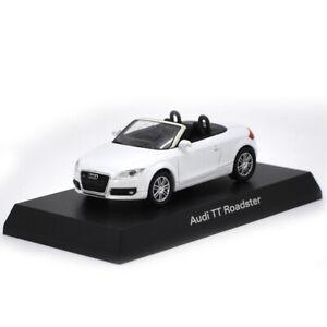 AUDI-Tt-Roadster-Vehiculo-de-Diecast-Escala-1-64-Coche-Modelo-Juguete-Ninos-Coleccion-Blanco