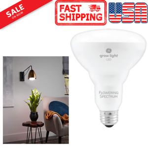 GE Lighting LED Grow Light for Indoor Plants BR30 Bulb 9W Full Red Spectrum SALE