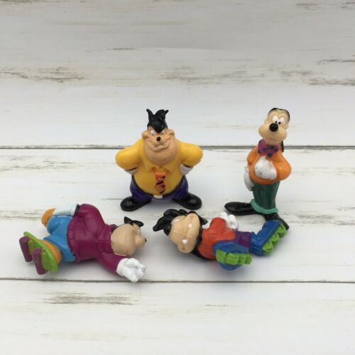 Kellogg's Goof Troop PVC Figurines Set of 4- Goofy Max PJ Pete