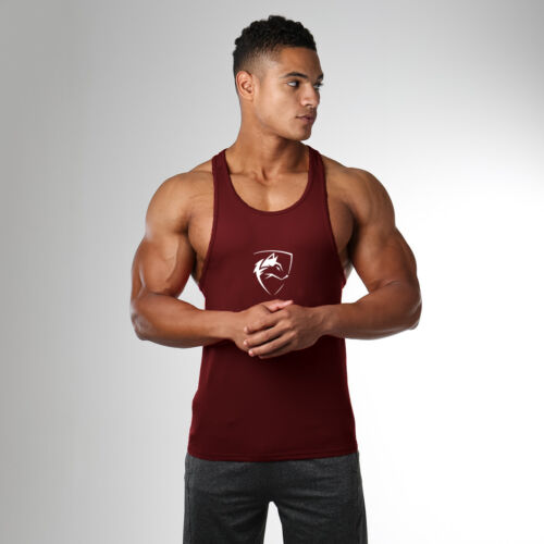 Pro Workout Cotton Y-Back Tank Tops Fitness Stringer Muscle Vest Clothing