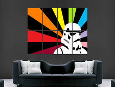 STORMTROOPER BRIGHT COLOURS  STAR WARS IMAGE HUGE  LARGE PICTURE POSTER GIANT